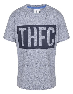 Spurs Boys THFC Rubber Print T-shirt