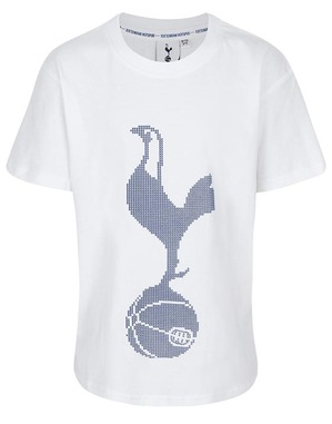 Spurs Kids Cockerel Raised Rubber T-Shirt