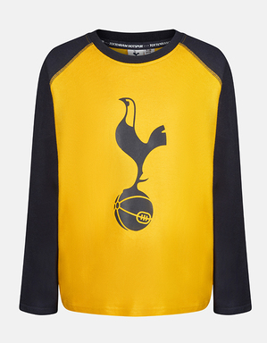 Spurs Kids Long Sleeve Block T-Shirt