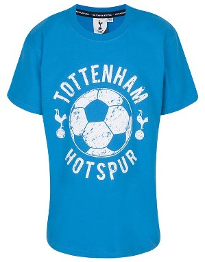 Spurs Kids Boys Footall Print T-Shirt