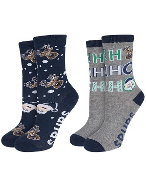 Spurs Kids 2 Pack Christmas Socks