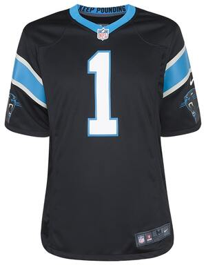 Nike Adult Carolina Panthers Cam Newton NFL Jersey