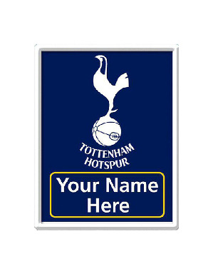 Personalised Spurs Bedroom Door Plaque
