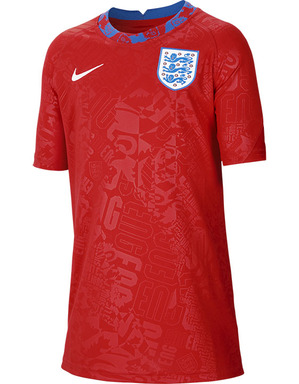 Youth England Warm Up T-Shirt 2020/21