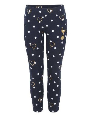 Spot and Heart Print Leggings