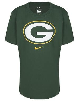 Nike Youth Green Bay Packers Logo T-Shirt