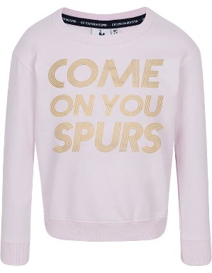Spurs Kids Come On You Spurs Foil Print Sweatshirt