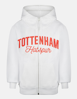 Youth Girls Tottenham Hotspur Embroidered Hoodie