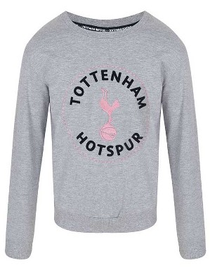 Spurs Girls Tottenham Print Sweat Top