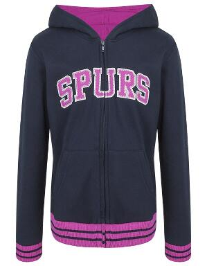 Spurs Kids Zip Through Hoodie