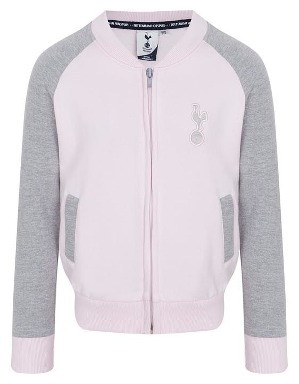 Spurs Kids Baseball Zip Through Top