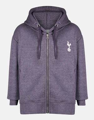 Spurs Youth Girls Essential Full Zip Hoodie