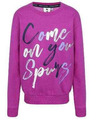 Kids Girls COYS Foil Print Sweatshirt