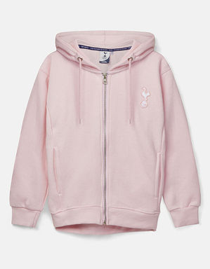 Youth Girls Pink Essential Hoodie