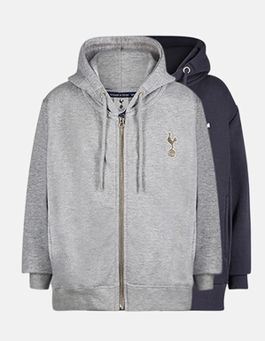 Spurs Kids Essential Full Zip Hoodie