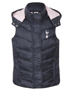 Spurs Girls Padded Gillet