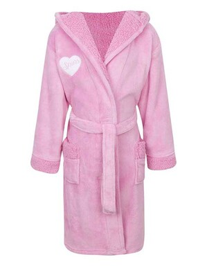 Spurs Kids Pink Robe