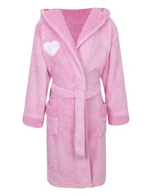 Spurs Girls Pink Robe