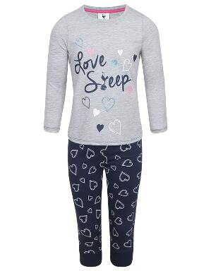 Spurs Kids Girls Love Sleep PJ Set