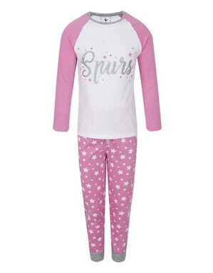 Spurs Kids Star Print PJs