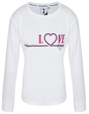 Youth Girls L/S Love Spurs T-Shirt