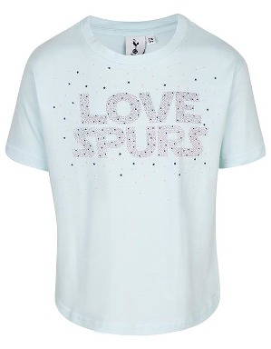 Spurs Girls Love Spurs Print T-shirt