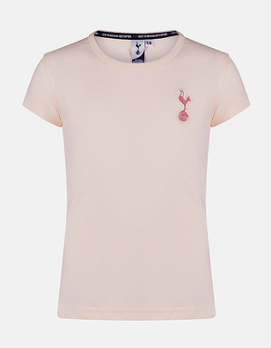 Spurs Girls Essential Crew Neck T-shirt