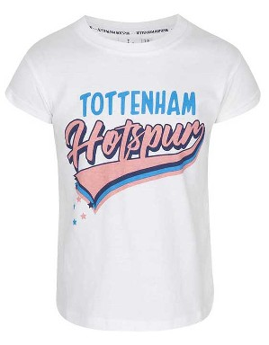 Spurs Girls Hotspur Trail Print T-Shirt