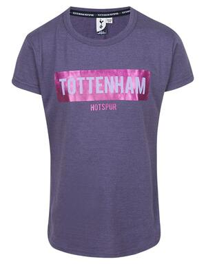 Youth Girls Tottenham Hotspur Glitter Print Tee