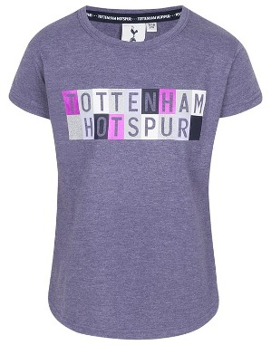 Spurs Kids Girls Block T-Shirt