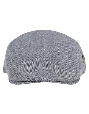Spurs Blue Tailored Driver Flat Cap