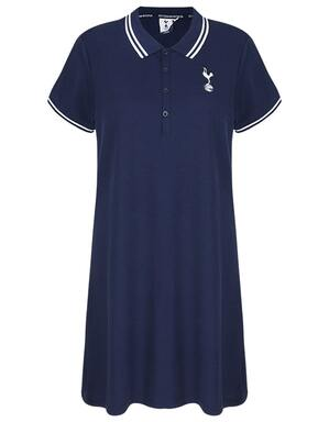 Spurs Womens Polo Collar Dress
