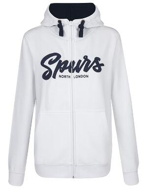Spurs Womens Felt Applique Hoodie