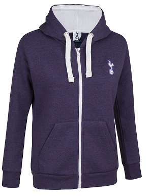 Spurs Womens Full Zip Essential Hooded Top