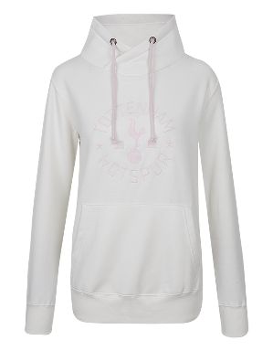 Spurs Womens Tottenham Cross Over Hoodie