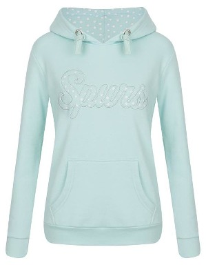 Spurs Womens Spot Applique Hoodie