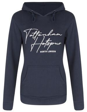 Spurs Womens Tottenham Hotspur Embroidered Hoodie