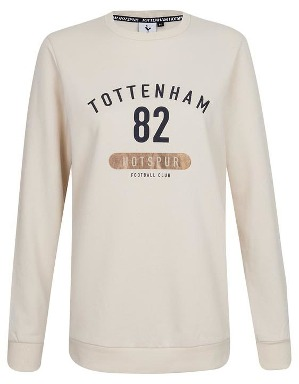 Spurs Womens Embroidery And Foil Print Sweat Top