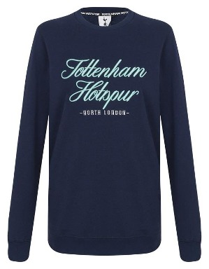 Spurs Womens Embroidery Tottenham Sweat Top