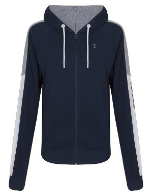 Spurs Womens Colour Block Hoodie