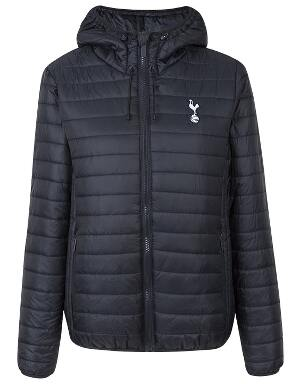 Spurs Womens Padded Hooded Jacket