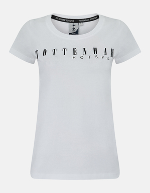 Spurs Ladies Tottenham Hotspur Printed Tee