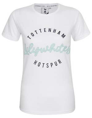 Spurs Womens Lilywhites Printed T-Shirt