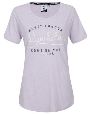 Spurs Womens Mixed Raised Print T-Shirt