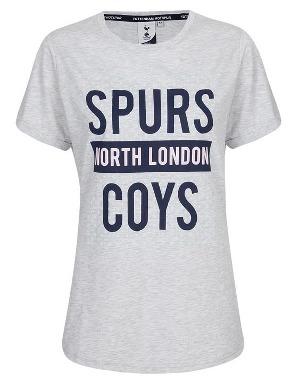 Spurs Womens Dot Printed T-Shirt