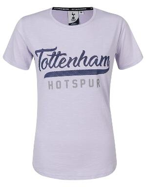 Spurs Womens Tottenham Rubber Print T-Shirt
