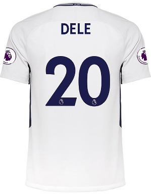 Spurs Mens Dele Printed Shirt 2017/2018