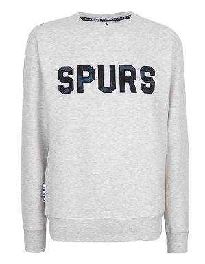 Spurs Mens Camo Applique Sweat Top