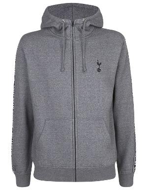 Spurs Mens Tape Detail Hoodie