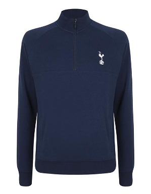 Spurs Mens Half Zip Track Jacket